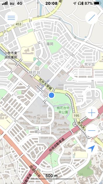 OpenStreetMapが使えるシンプルな地図アプリ「OSMaps」- 4