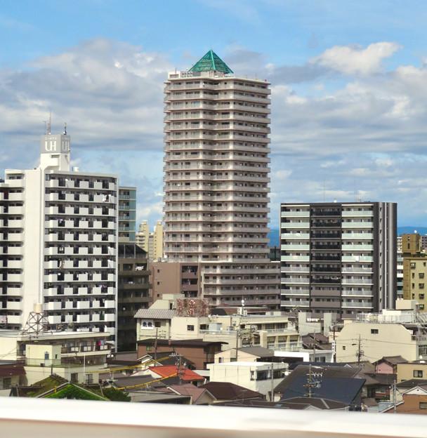 名古屋高速から撮影したアンビックス志賀ストリートタワー - 2