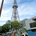 リニューアル工事中の名古屋テレビ塔:テレビ塔横に新たな建物!? - 1