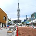 商業施設が侵食した感じしかしないリニューアル工事中の久屋大通公園 - 5