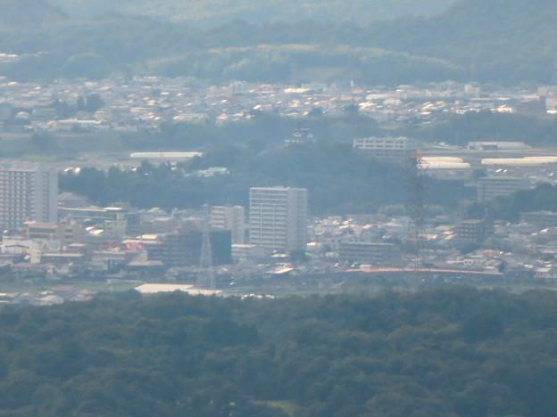 弥勒山山頂から見た景色 - 3:犬山城