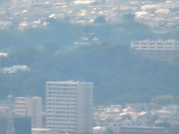 弥勒山山頂から見た景色 - 4:犬山城