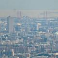 Photos: 弥勒山山頂から見た景色 - 10:名港西大橋と名古屋港に浮かぶ船