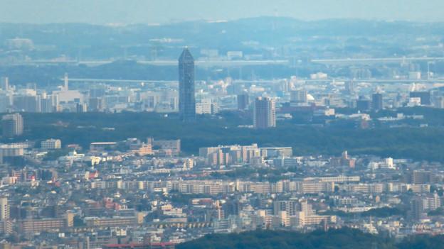 弥勒山山頂から見た景色 - 12:東山スカイタワー