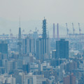 雨続きが開けて遠くまで見通せた尾張白山社からの景色 - 5:名古屋テレビ塔とNTTドコモ名古屋ビル