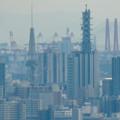 雨続きが開けて遠くまで見通せた尾張白山社からの景色 - 6:名古屋テレビ塔とNTTドコモ名古屋ビル