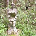 Photos: 道樹山:柿ノ木川沿いの登山道 - 20(二宮金次郎像!?)