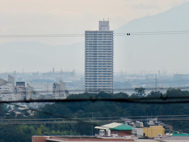 高森台から見た桃花台ニュータウン - 2:スカイステージ33