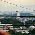 高森台から見た桃花台ニュータウン - 3:桃花台中央公園
