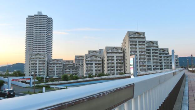 スカイステージ33と県営篠岡住宅