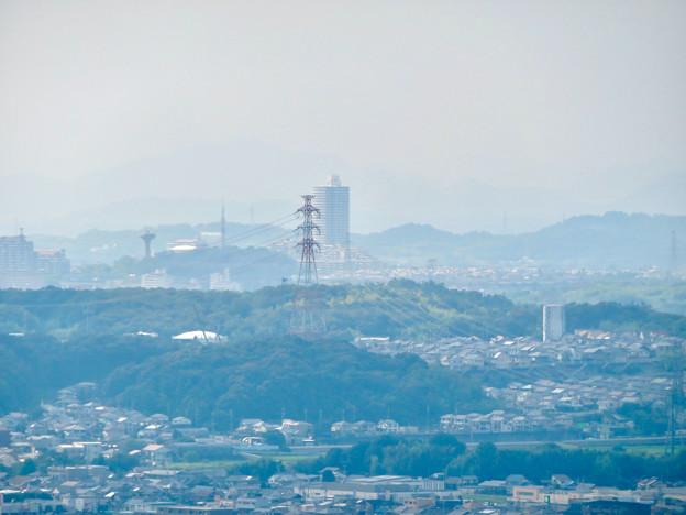東谷山山頂から見たスカイステージ33 - 1