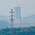 Photos: 東谷山山頂から見たスカイステージ33 - 2