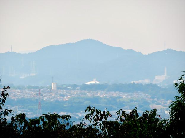 東谷山山頂から見た尾張白山