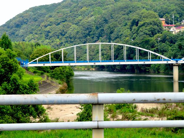 庄内川に架かる愛知県用水道の水道橋 - 2