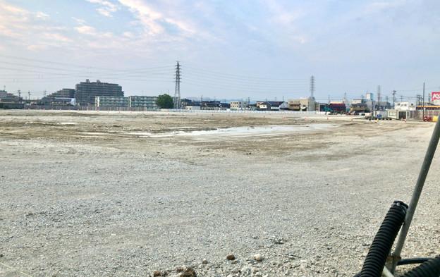 新しい建物の準備に入った?旧ザ・モール春日井跡地(2020年8月4日) - 1