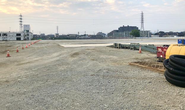 新しい建物の準備に入った?旧ザ・モール春日井跡地(2020年8月4日) - 7
