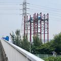 建設中のリニア中央新幹線 神領非常口(2020年8月8日)- 2