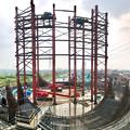 Photos: 建設中のリニア中央新幹線 神領非常口(2020年8月8日)- 6:Microsoft Pixの「Photosynth」で撮影