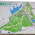 春日井市少年自然の家:野外教育センターの地図