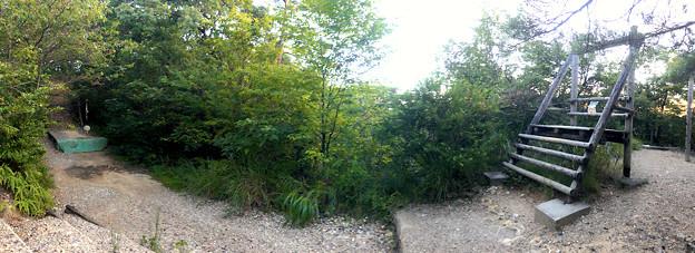 春日井市少年自然の家「野外教育センター」 - 72:ターザンロープ(パノラマ)