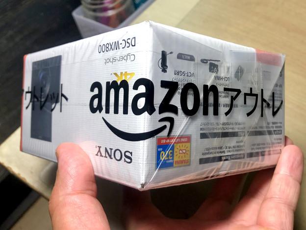 Amazonアウトレットでデジカメ「WX800」を購入 - 3