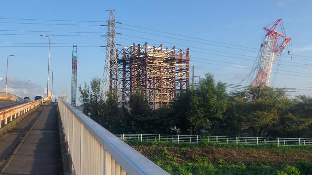 建設中のリニア中央新幹線 神領非常口(2020年9月8日) - 1