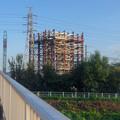 Photos: 建設中のリニア中央新幹線 神領非常口(2020年9月8日) - 1
