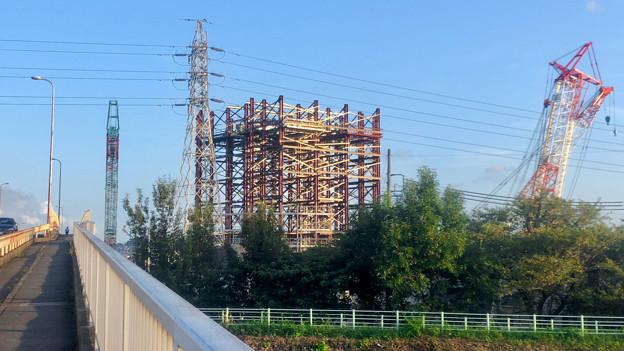 建設中のリニア中央新幹線 神領非常口(2020年9月8日) - 2