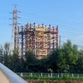 Photos: 建設中のリニア中央新幹線 神領非常口(2020年9月8日) - 2