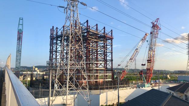 建設中のリニア中央新幹線 神領非常口(2020年9月8日) - 3