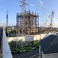 Photos: 建設中のリニア中央新幹線 神領非常口(2020年9月8日) - 4:パノラマ