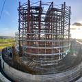 Photos: 建設中のリニア中央新幹線 神領非常口(2020年9月8日) - 5:Microsoft Pixの「Photosynth」で撮影