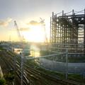 Photos: 建設中のリニア中央新幹線 神領非常口(2020年9月8日) - 6:Microsoft Pixの「Photosynth」で撮影