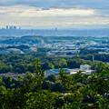Photos: 西高森山山頂から見た景色 - 2:名駅ビル群と愛知県医療療育総合センター