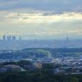 西高森山山頂から見た景色 - 7:名駅ビル群とザ・シーン城北