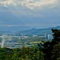 Photos: 西高森山山頂から見た景色 - 10:神屋工業団地と尾張白山