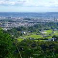 Photos: 西高森山山頂から見た景色 - 11:廻間町の田園地帯と高蔵寺ニュータウン