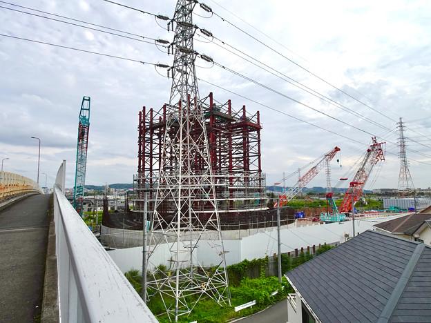 建設中のリニア中央新幹線 神領非常口(2020年9月13日) - 1