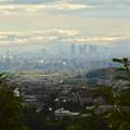春日井市少年自然の家「野外教育センター」展望台から見た景色 - 2:名駅ビル群