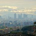 Photos: 春日井市少年自然の家「野外教育センター」展望台から見た景色 - 3:名駅ビル群
