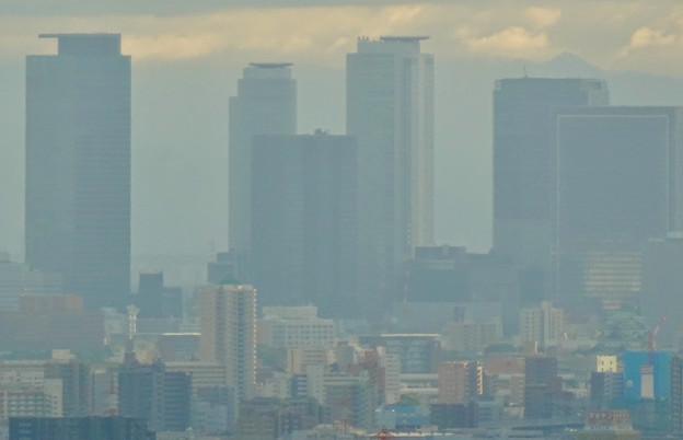Photos: 春日井市少年自然の家「野外教育センター」展望台から見た景色 - 5:名駅ビル群