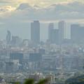 Photos: 春日井市少年自然の家「野外教育センター」展望台から見た景色 - 7:名駅ビル群