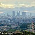 Photos: 春日井市少年自然の家「野外教育センター」展望台から見た景色 - 10:名駅ビル群