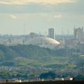 春日井市少年自然の家「野外教育センター」展望台から見た景色 - 11:ナゴヤドーム