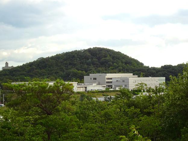 春日井市少年自然の家「野外教育センター」展望台から見た景色 - 14:高森山