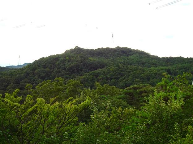 春日井市少年自然の家「野外教育センター」展望台から見た景色 - 17:西高森山