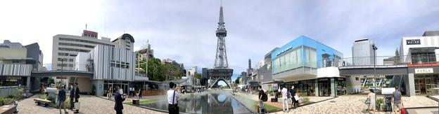 リニューアルした久屋大通公園「レイヤード・ヒサヤオオドオリ・パーク」のパノラマ写真
