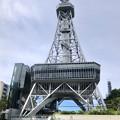 Photos: 真下から撮影したリニューアルした名古屋テレビ塔(縦パノラマ) - 1
