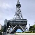 真下から撮影したリニューアルした名古屋テレビ塔(縦パノラマ) - 2