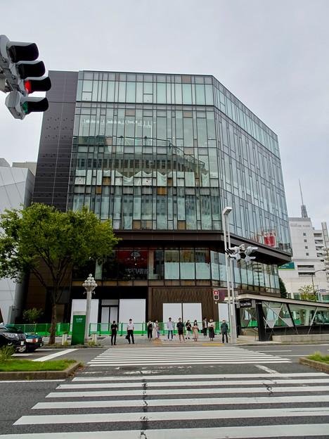 ほとんど完成してた日本生命栄町ビル(2020年9月14日)- 2